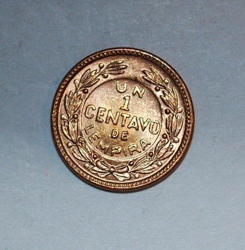 Honduras centavo 1957