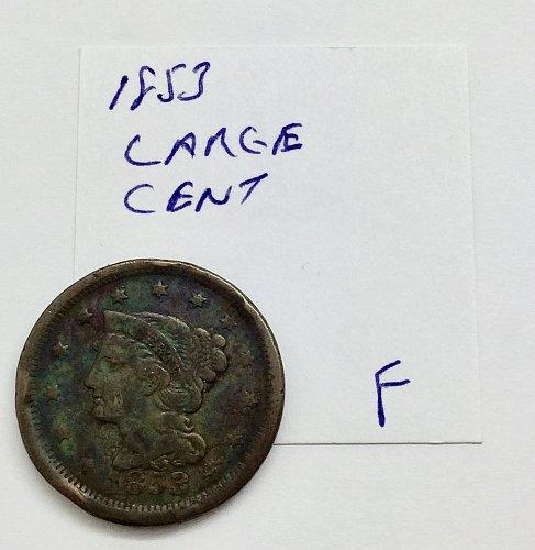1853 Large Cent