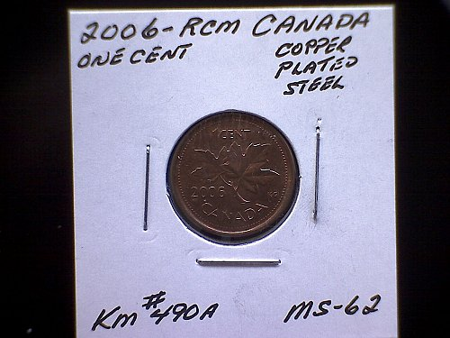 2006-RCM  CANADA ONE CENT QUEEN ELIZABETH 11