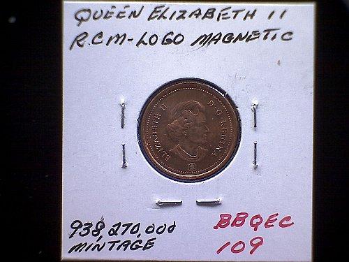 2007-RCM  CANADA ONE CENT QUEEN ELIZABETH 11