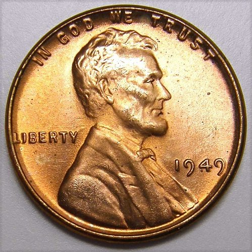 1949 P Lincoln Wheat Cent #2