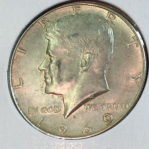 1969-D Kennedy Half Dollar (40201)