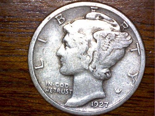 1927P Dime