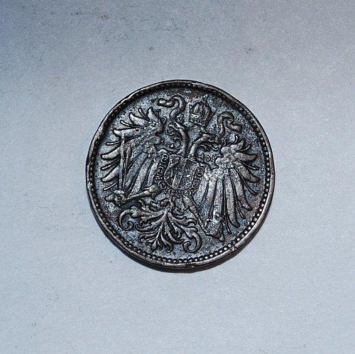 Austria 2 Heller 1899