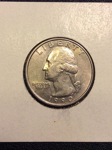 1990 P Quarter