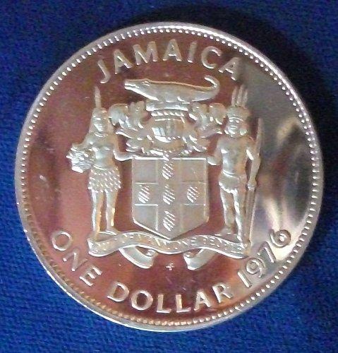 1976FM Jamaica Dollar Proof