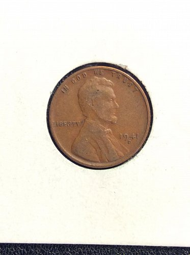 1941 D Wheat Penny G4