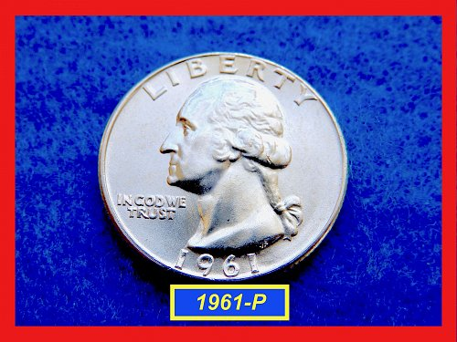 1961-P Washington Quarter  ★  UNCIRCULATED  ★   (#2637)√