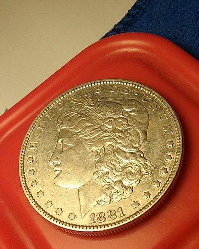1881 silver dollar