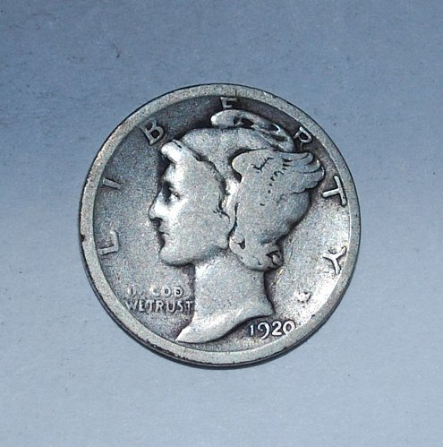 1920 P Mercury Dime  ---(230)