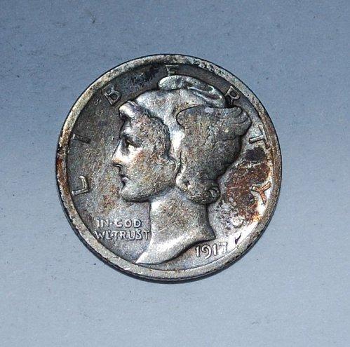 1917 P Mercury Dime  ---(235)