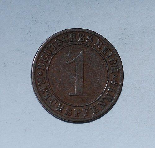 Germany 1 Reichspfennig 1 Pfennig 1934 A