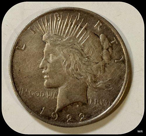 1922 P Early Peace Dollar