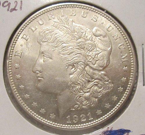 1921-P Morgan Silver Dollar,  NICE MS/BU!!!