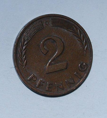 Germany - Federal Republic 2 Pfennig 1965 d