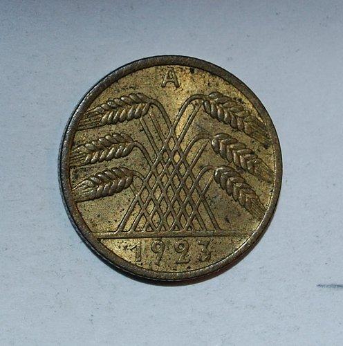 Germany - Weimar Republic 10 Rentenpfennig 1923 a