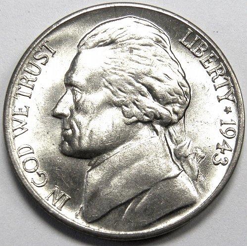 1943 D Jefferson Nickel #1