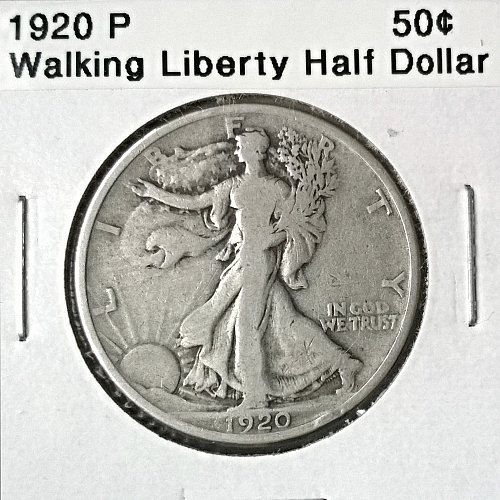 1920 P Walking Liberty Half Dollar