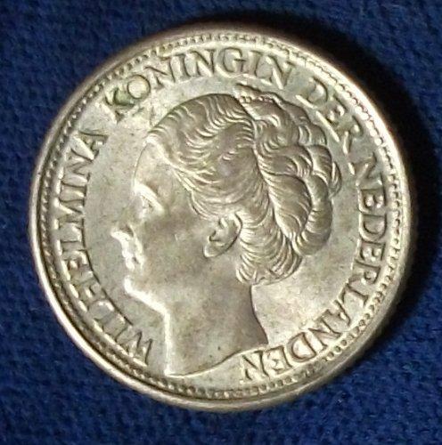 1944D Curacao 1/4 Gulden XF
