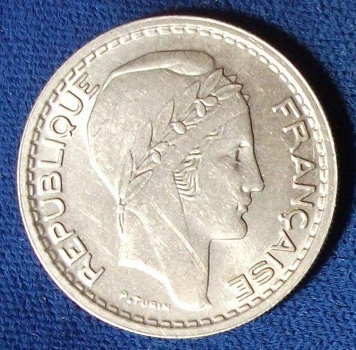 1948B France 10 Francs UNC