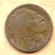 1921 P Buffalo Nickel - NO RESERVE - FREE SHIPPING