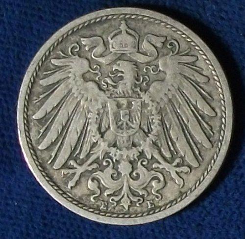 1894E Germany/Empire 10 Pfennig Fine