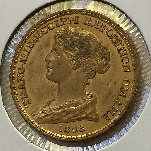 1898 Trans-Mississippi & International Exposition Official Medal