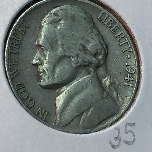 1941-S Jefferson Nickel (40441)