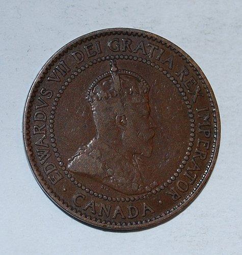 CANADA 1 cent 1910