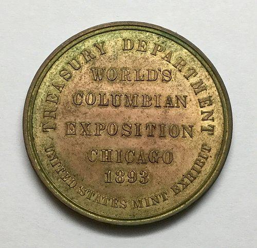 1893 Chicago Exposition Treasury Building Commemorative