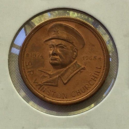 1965 Sir Winston Churchill Commemorative Medal
