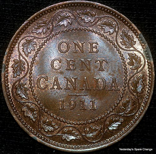 "1911 Choice High Grade Canada ""George VI"" Large Cent!!"