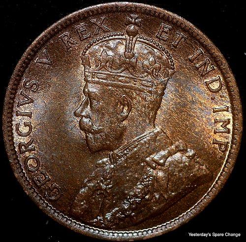 "1911 Choice High Grade Canada ""George VI"" Large Cent!!"