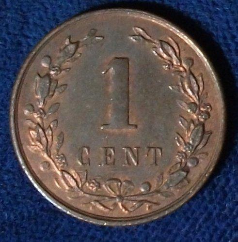 1900 Netherlands Cent AU