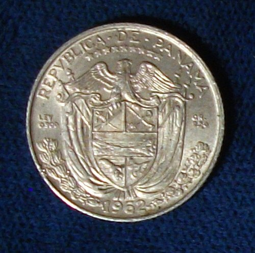 1962 Panama 1/10 Balboa AU