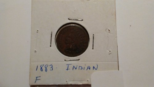 1883 Indian Head Penny, Fine