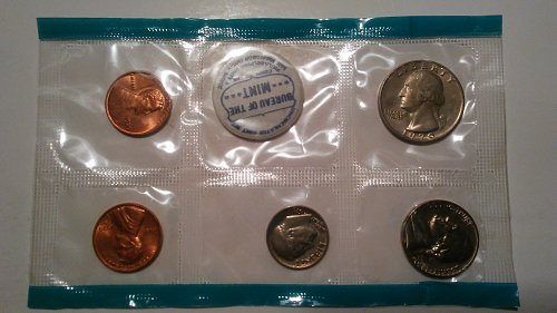 1970 Proof Sets from Philadelphia Mint & San Francisco Assay Office and also Den