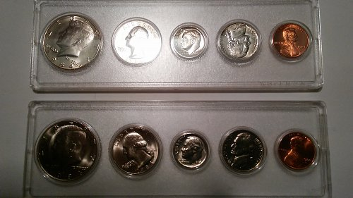 1984 Denver and Philadelphia Proof Sets