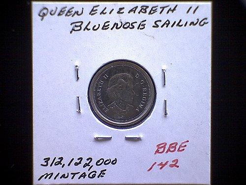 2006-P CANADA TEN CENTS  QUEEN ELIZABETH 11