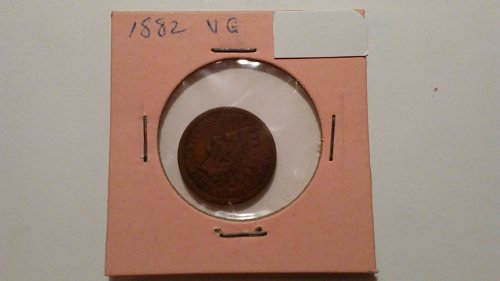 1882 Indian Head Penny, Very Good