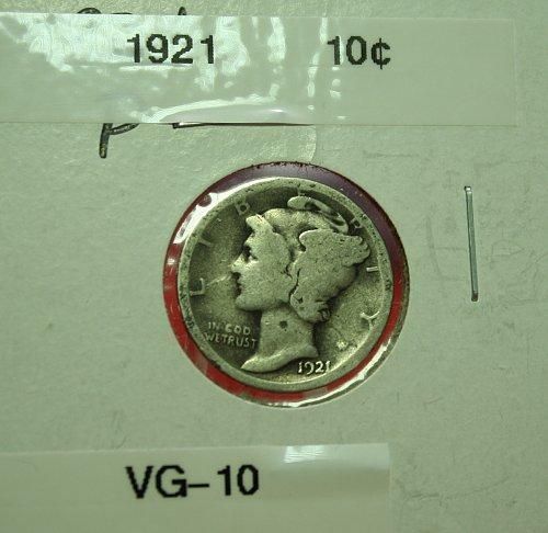1921 Mercury Dime  ***Rare***