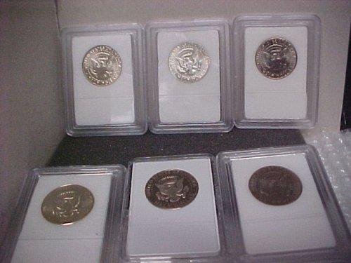 U.S. Coins J.F.K. 50C 6 Mixed Uncirculated