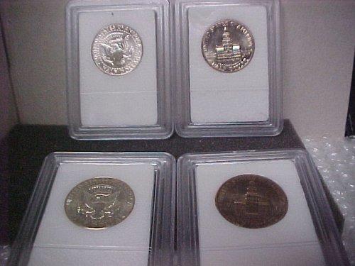 U.S. Coins J.F.K. 50C 4 Mixed Uncirculated