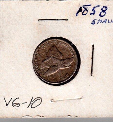 Flying Eagle Cent of 1858    /  WM-34