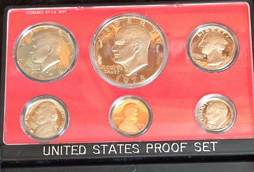 U.S.  1978 Proof Set  /  WM-56