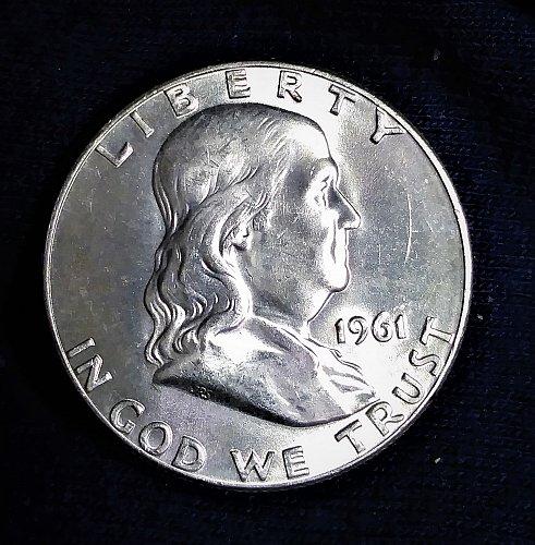 Franklin 1961-P .MS 64