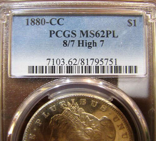 '80-CC Morgan.  Love the combination of Proof-Like and low grade...