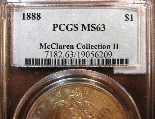 Pedigree: McClaren Collection II. '88-P Morgan