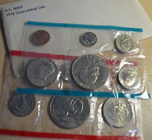 1978 US Mint Uncirculated Set
