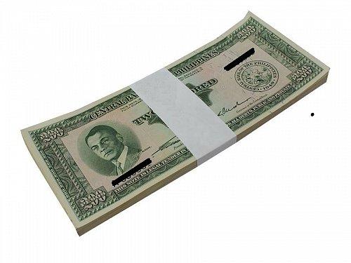 Philippines 200 Pesos X 100 Pieces (PCS) - UNC, Bundle, Pack - English Series